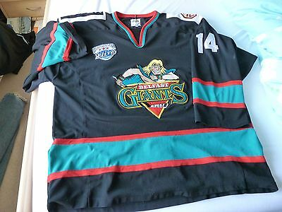 Belfast Giants Jersey (game worn)