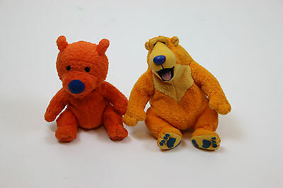 Bear in the Blue House Ojo And Blue Lot Plush Toy Mattel
