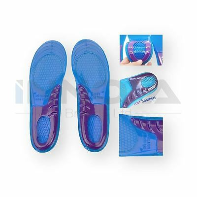 High Quality New Orthotic Arch Support Massaging Gel Insoles Inserts Size 6-9