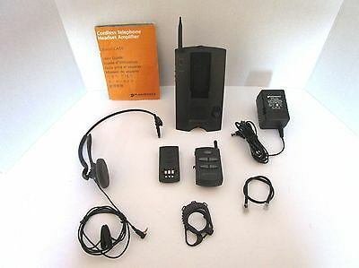 Plantronics CS10 Cordless Headset System (C)