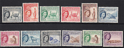 Somaliland 1953 Sg: 137/48 Complete Set Mh Cat. £100