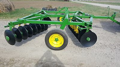 MAKE OFFER! John deere bw disk 12 ft restored new blades deer plot arena