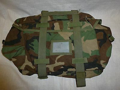 MOLLE II Sleep System Carrier - Woodland Camo - Army Military Rucksack