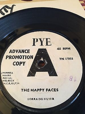 Lorraine Silver 'the Happy Faces' 60's Rare Northern Soul