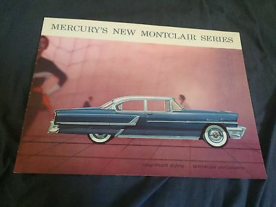 1955 Mercury Montclair including Sun Valley Full Line Brochure Catalog Prospekt