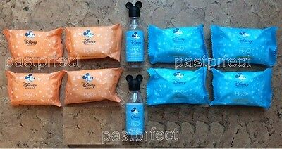 Disney World WDW Lot 10 Mickey Soap H2O Blushing Orange 4 Bath 4 Facial 2 Bottle