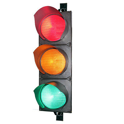 200mm LED Traffic Light for Commercial & Industrial Applications - 3Yr Warranty
