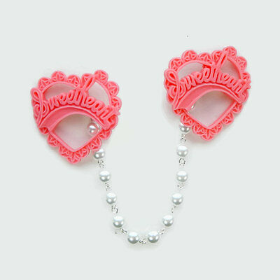 Pink Sweetheart Sweater Clip
