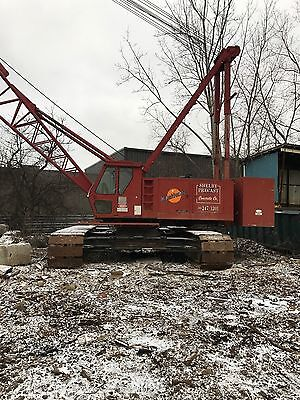 1992 Cable Crane Manitowoc M-85W 100 Ton ONLY 3688 HOURS, 505 Cummins