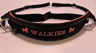 Multi Dog Walking Belt With air padding and bungee lines (FREE LEAD LINK)
