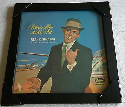 Frank Sinatra-Come Fly With Me-Framed Cover With Disk