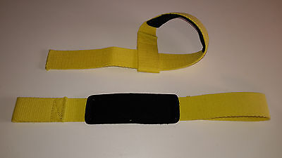 Sangles de Tirage - Lifting straps - Musculation - Fitness - Powerlifting