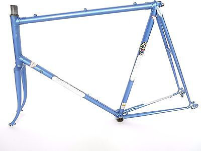 vintage Benotto frame and fork 80s steel C-C 62 cm Italian Made. Campagnolo
