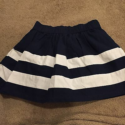 babyGap Toddler Girls Navy & White Striped Skirt - Size 2T