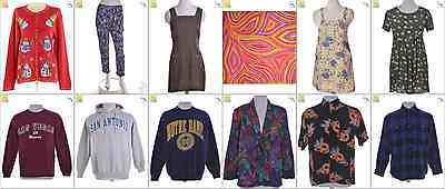 JOB LOT OF 23 VINTAGE MIXED GARMENTS - Mix of Era's, styles and sizes (21439)*