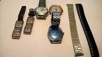 Vintage Watches and Straps Job Lot Loft Find
