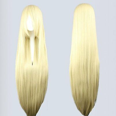 Blonde Chobits Cosplay Wig Used