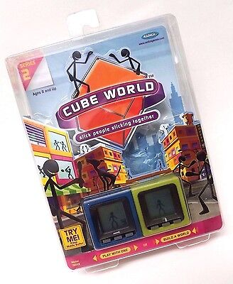 Radica Cube World Stick People - Handy and Dusty - Series 2 - 2006 NEW SEALED