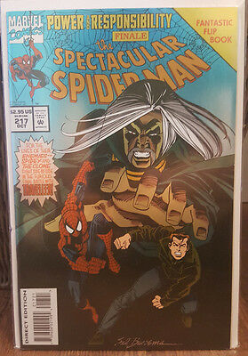 The Spectacular Spider-Man #217 [Flipbook] (Oct 1994, Marvel) COMBINED SHIPPING
