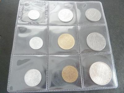 SAN MARINO 1978 MINT SET WITH 1000 LIRE SIVER COIN   A707f