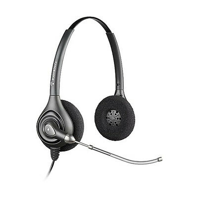 Plantronics HW261 SupraPlus Wideband Voice Tube Headset (A)