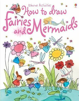 How to Draw Fairies and Mermaids ~ Usborne book 509194 ~ drawing for kids ~ NEW!