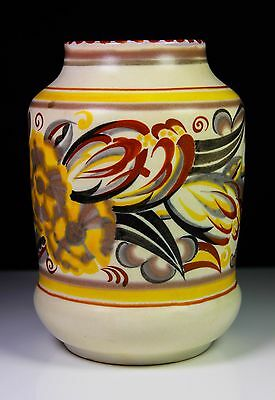 Art Deco Poole Pottery Traditional Vase By Ruth Pavely C.1924-1934