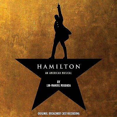 HAMILTON : ORIGINAL BROADCAST CAST (LP Vinyl BOX SET) sealed