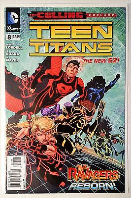 Teen Titans #8 (2011) New 52 NM Lobdell Guara