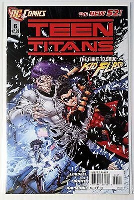 Teen Titans #6 (2011) New 52 NM Lobdell Booth