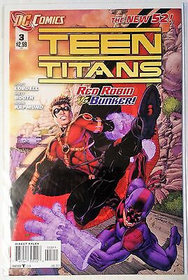 Teen Titans #3 (2011) New 52 NM Lobdell Booth