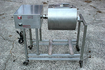 Quality Industries Stainless Meat Tumbler Marinator Mixer Machine Model Qmm-4