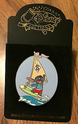 Disney Auctions Stitch Windsurfing on Sailboard LE 1000 Pin NEW ON CARD