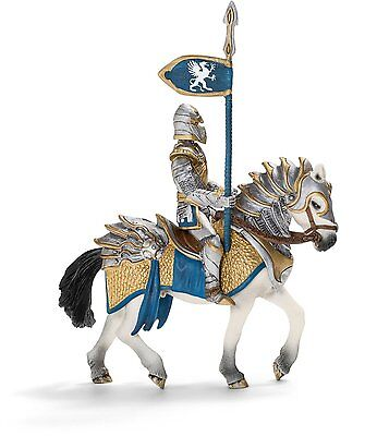 Schleich - Griffin Knight on Horse with Lance Action Figure 70109 NEW