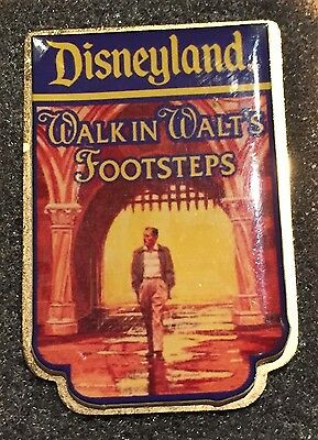 Walk in Walt's Footsteps Cast Member Tour Guide Disney Pin EXTREMELY RARE