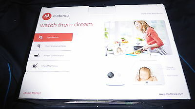 Motorola MBP867 Video Baby Monitor with 7 Inch LCD Display