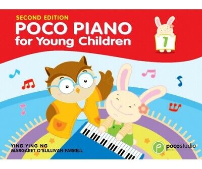 Poco Piano for Young Children Book 1 PS4829 YING YING NG Lessons Book 1 NEW