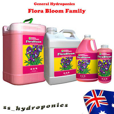 General Hydroponics Flora Bloom Hydroponic Plant Flowering Nutrients 946ml/3.79L