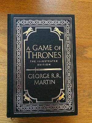 A Game of Thrones by George R.R. Martin TV, Movie, Game [Hardcover] NEW
