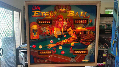 Eight Ball - Classic Pinball Machine by Bally