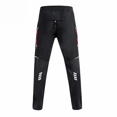 S-4XL Cycling Casual Long Pants Bicycle Tights Outdoor Sports Reflective Trouser