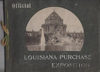 Louisiana Purchase Exposition 1904 St. Louis World's Fair Official Photo Book |