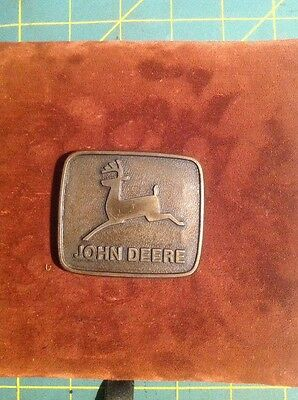 John Deer Belt Buckle
