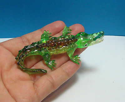 Crocodile Porcelain Miniature Figurine