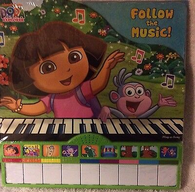 Nickelodeon Dora the Explorer : Follow the Music (2011, Hardcover)