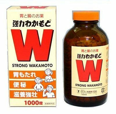 JAPAN Strong Wakamoto 1000 Tablets NEW