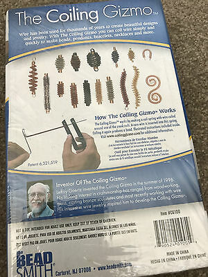 The Bead Smith Coiling Gizmo ~ Coils Wire Simply ~ Beading ~ Coil ~ Spring ~ NIB