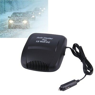 12V Car Vehicle Portable Heater Heating Cooling Fan Defroster Demister IU