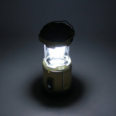 Rechargeable Solar Powered Camping Lantern Night Light Hiking Lamp Torch IU