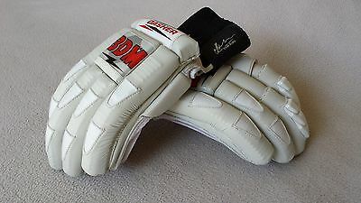 BDM Leather Cricket Batting Gloves Youths LH - Dasher - Test Quality